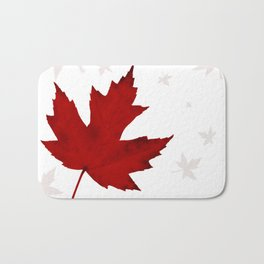 Maple leaf Bath Mat