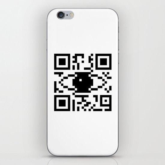 BC . Eye iPhone & iPod Skin