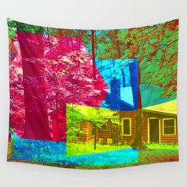 Cabin Trip Wall Tapestry