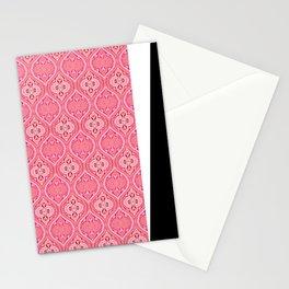 Tropical Pink Boho Ogee Stationery Cards
