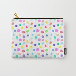 Watercolor confetti Carry-All Pouch