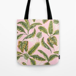 Banana leaf party Tote Bag