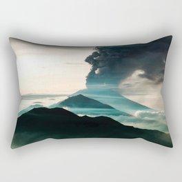 Mount Agung Volcanic Eruption Rectangular Pillow