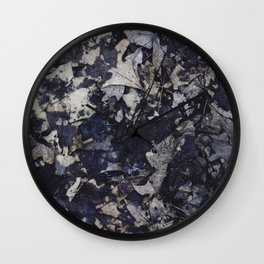 thoughts scattered across the stars Wall Clock