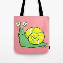 Sweetie Greenie Snail Tote Bag