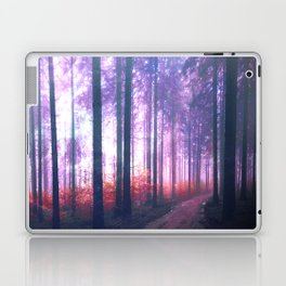 Woods in the outer space Laptop & iPad Skin