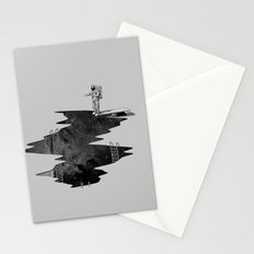 Space Diving Stationery Cards