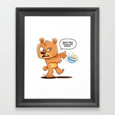 Hooves Framed Art Print