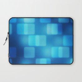 Multi-Blue Tiles Abstract Pattern Laptop Sleeve