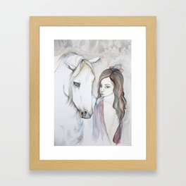 Gypsy and Companion Framed Art Print