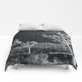 Joshua Tree InfraRed by CREYES Comforters