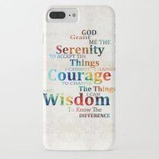 Colorful Serenity Prayer by Sharon Cummings Slim Case iPhone 7 Plus