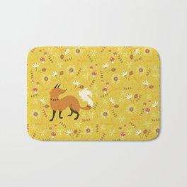 Cute as a Fox Bath Mat