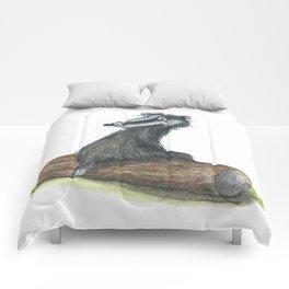 Badgers Date Comforters