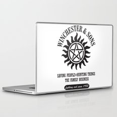 SUPERNATURAL WINCHESTER AND SONS Laptop & iPad Skin