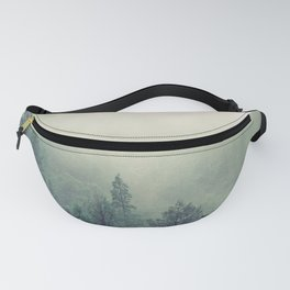 My Peacful Misty Forest Fanny Pack