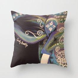 Elephant stomp Throw Pillow