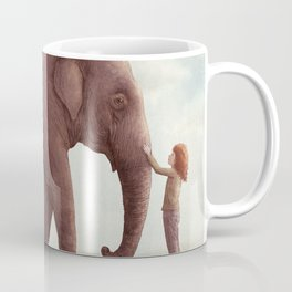 One Amazing Elephant - Back Cover Art Coffee Mug