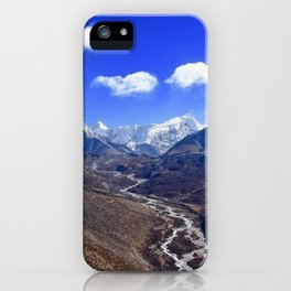 Himalayan Valley iPhone Case