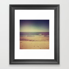 Back to the sea Framed Art Print
