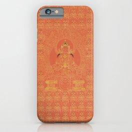 Tibetian Myriad Amitayus the Buddha of Eternal Life (ca 1800) iPhone Case
