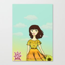Atardecer Canvas Print