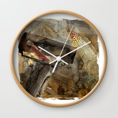 Rural Route 473 Wall Clock