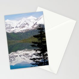 Mountain Reflection with Lone Pine Stationery Cards