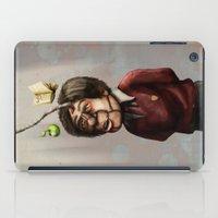 teacher iPad Cases featuring Teacher by Lee Grace Illustration