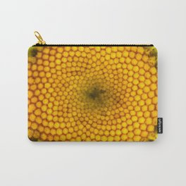 The Daisy Whorls I Carry-All Pouch