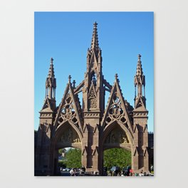 Green-Wood Cemetery Canvas Print