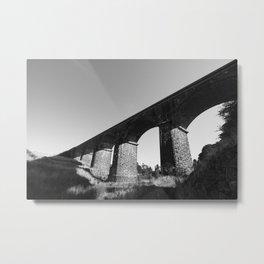 Malmsbury Rail Bridge Metal Print