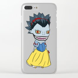 Snow Ryuk Clear iPhone Case