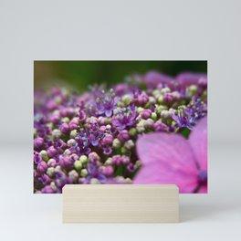 Small Purple Flowers Mini Art Print
