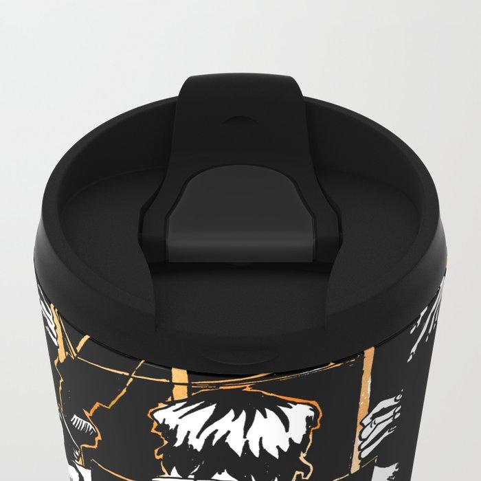 Daryl Dixon Metal Travel Mug