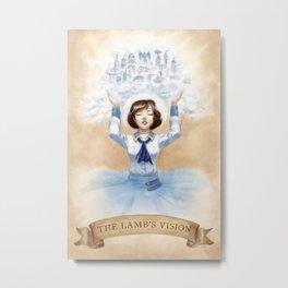 The Lamb's Vision Metal Print