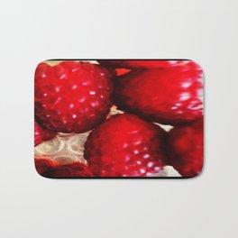 Raspberry Bath Mat
