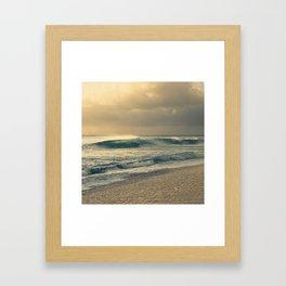 Waves of Light Framed Art Print