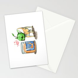 Apple Nutter Chihuahua Stationery Cards