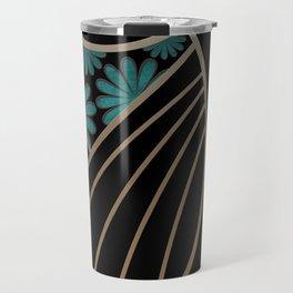 ART DECO FLOWERS (abstract) Travel Mug