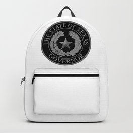 Texas State Governor Seal Backpack