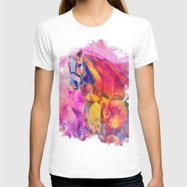 Painterly Animal - Horse 1 T-shirt
