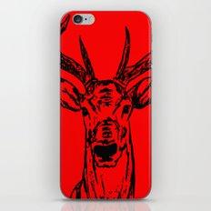 Crimson Deer iPhone & iPod Skin