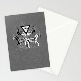 Undead unicorns Stationery Cards