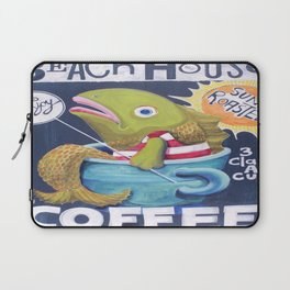 Beach House Coffee Laptop Sleeve