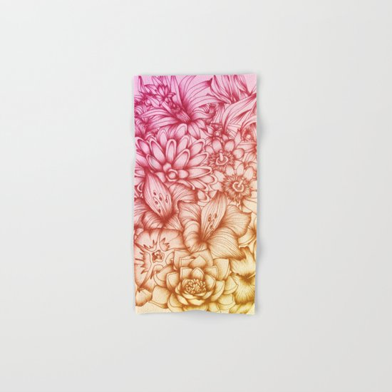 Tropical Flowers II Hand & Bath Towel