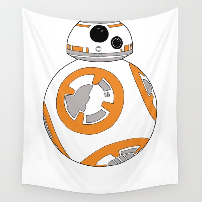 Bb 8 Astromech Droid Wall Tapestry By Thegail Society6