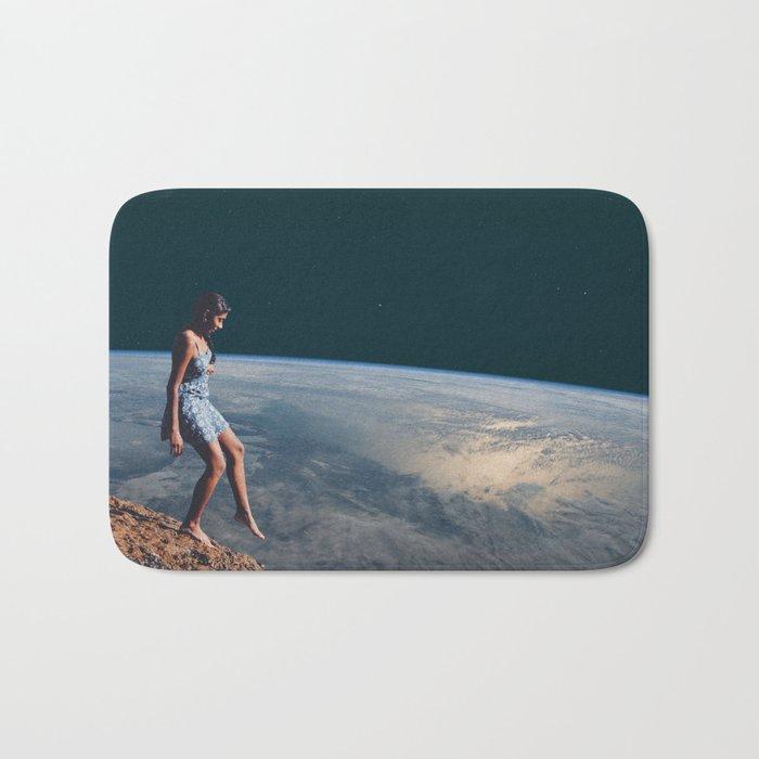 Going to Unknown World Bath Mat