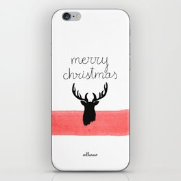 Christmas time - Deer edition iPhone Skin