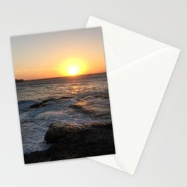 Beautiful sunset at La Perouse, Sydney, Australia Stationery Cards